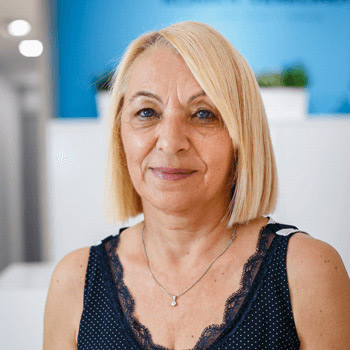 Prim. Dr Slavica Veselinović, the Chairman of the Board of Directors